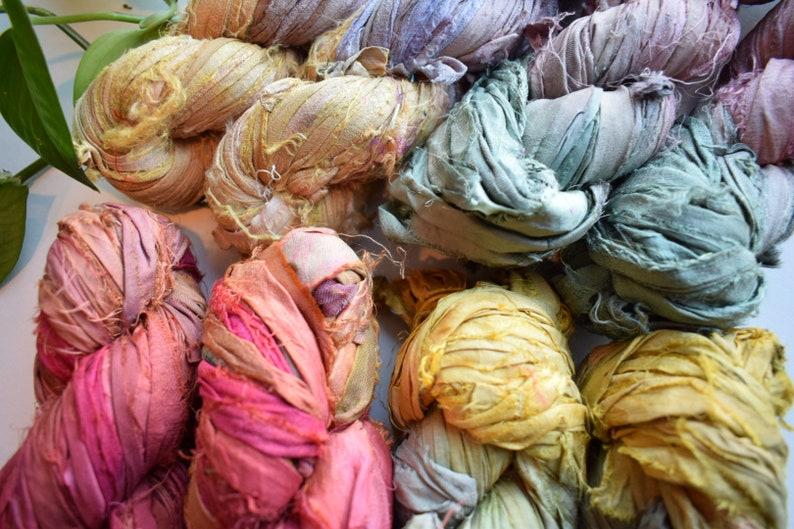 recycled ribbon ribbon silk ribbon ombr\u00e9 recycled sari silk ribbon sari ribbon sari silk sari silk ribbon yarn recycled silk ribbon