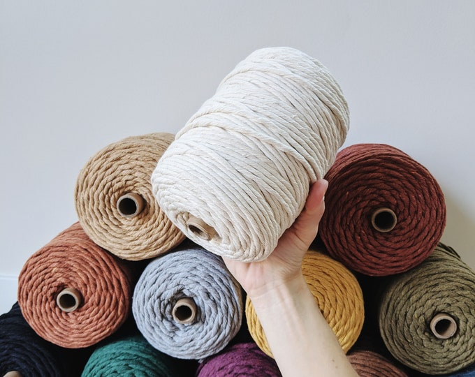 large 5mm cotton string - free US shipping