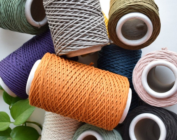 1.5mm recycled cotton string