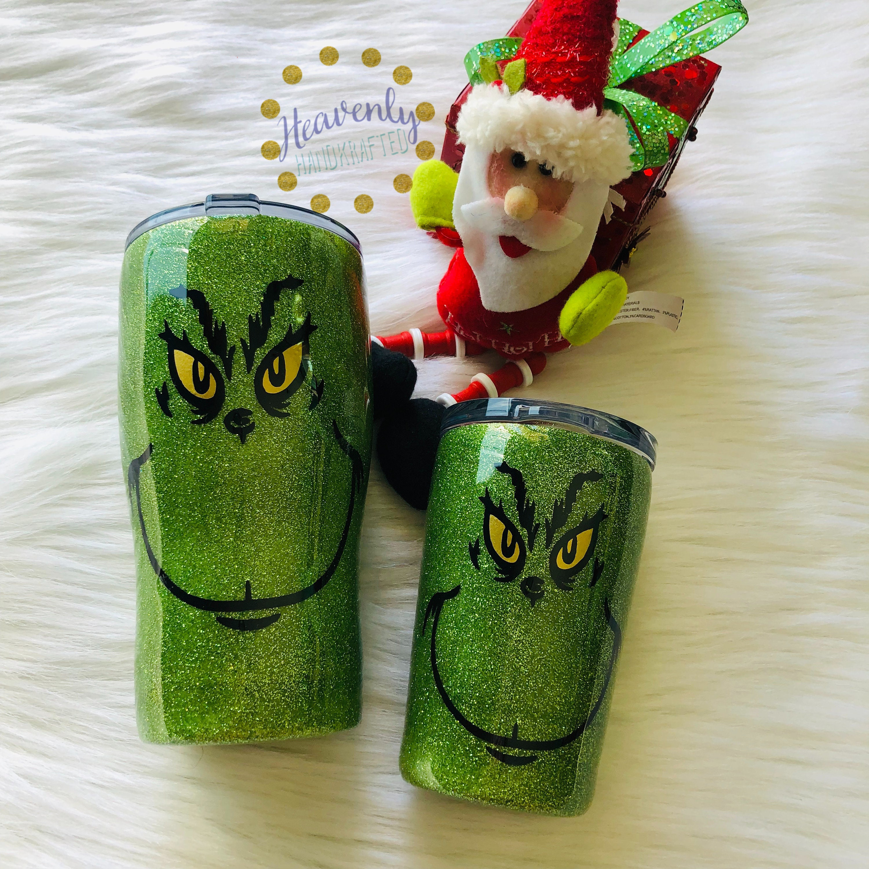 Grinch Christmas Insulated Tumbler