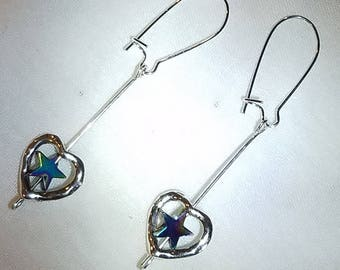 Lovestar State Straight-up Earrings - HARVEY/IRMA Donation Item
