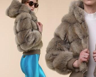 70s Faux Fur Coat // Vintage Teddy Bear Coat // 70s Faux Fur Jacket // Retro Fluffy Vintage Coat