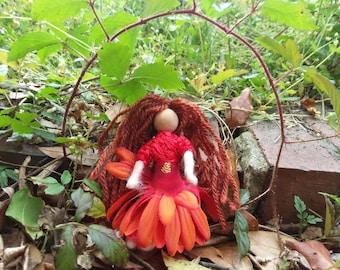 Flower Fairy Bendy Doll