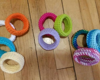 Baby teething rings/infant teethers/teething rings