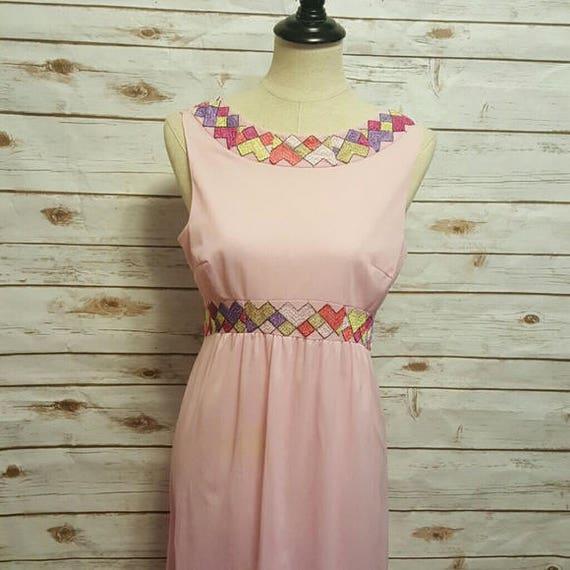 Vintage, 60's, Pucci slip dress/ night gown, Mediu