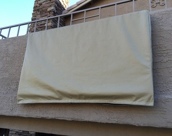 """Outdoor TV Cover for a 50-52"""" Television"""