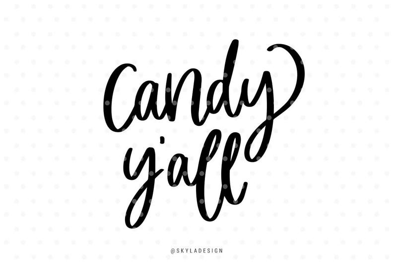 Candy Yall Svg Trick Or Treat Svg Halloween Svg Files