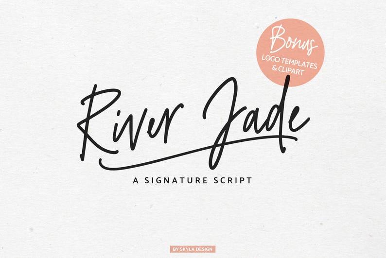 Signature font, Cursive font, Modern calligraphy font, Romantic font,  Handwritten font, font download, cute font, digital font