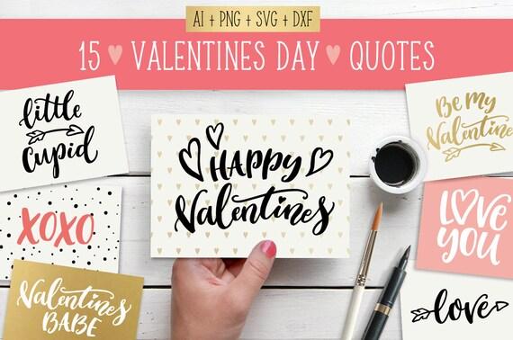 Valentine Svg Valentines Svg Bundle Happy Valentines Day Etsy