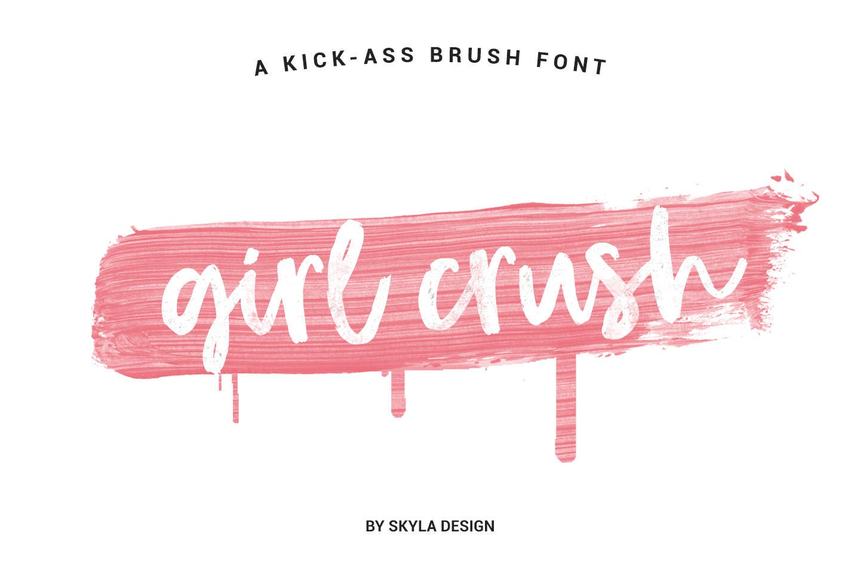 Bold brush font Modern brush font Cursive font Handwritten | Etsy