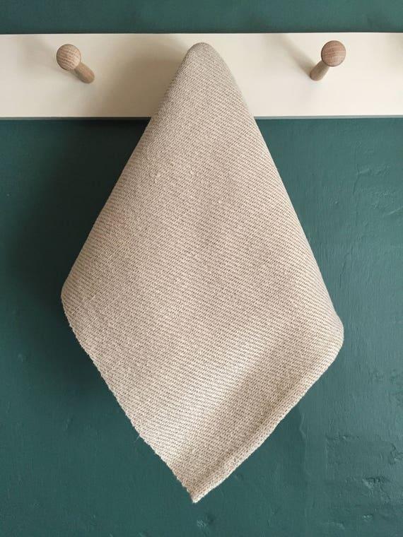Handwoven Shaker Inspired Linen Hand Towel
