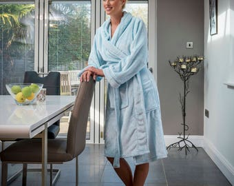 6723f08c0f Personalised Supersoft Fleece Dressing Gown