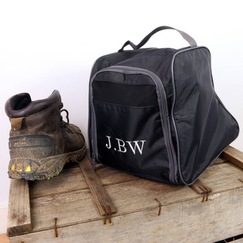 Personalised Embroidered Walking Boot Bag