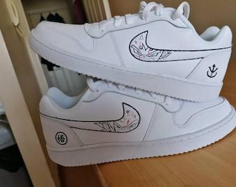 Custom DBZ shoes