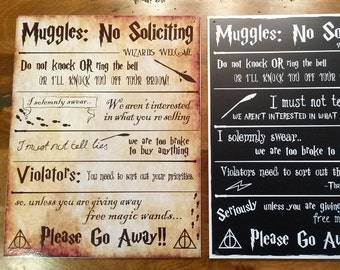 Harry ne Potter aucun signe de solliciter - 2 Options disponibles