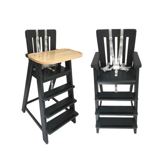 Wooden High Chair, Schuster Booster, Toddler Dining Chair, Toddler Booster Chair,