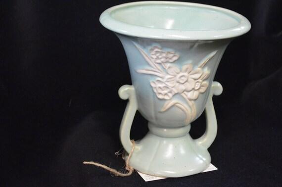 Weller Vase Aqua Etsy