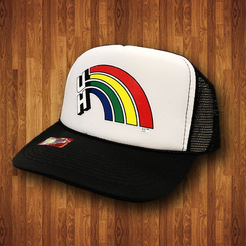 Officially Licensed University of Hawaii Hat Vintage Rainbow Warriors