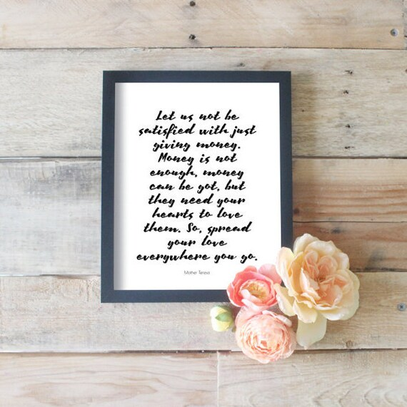 Let Us Not Be Satisfied With Just Quotes About Giving Church Etsy