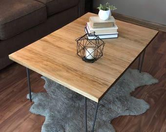 Attirant Coffee Table   Hairpin Leg Coffee Table   Wood Coffee Table   Rustic Coffee  Table   Industrial Coffee Table   Custom Coffee Table