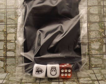 HeroQuest 6 Sided Dice 6 Dice