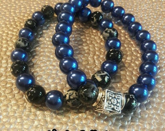 Mens Bracelet, Beaded Bracelets, Jewelry for Men, Stack Bracelets, Accessories, Jewelry, Gift Idea, Man Beds, Mens Accessories, For Him