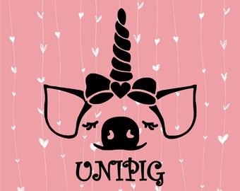 Pig Svg Etsy
