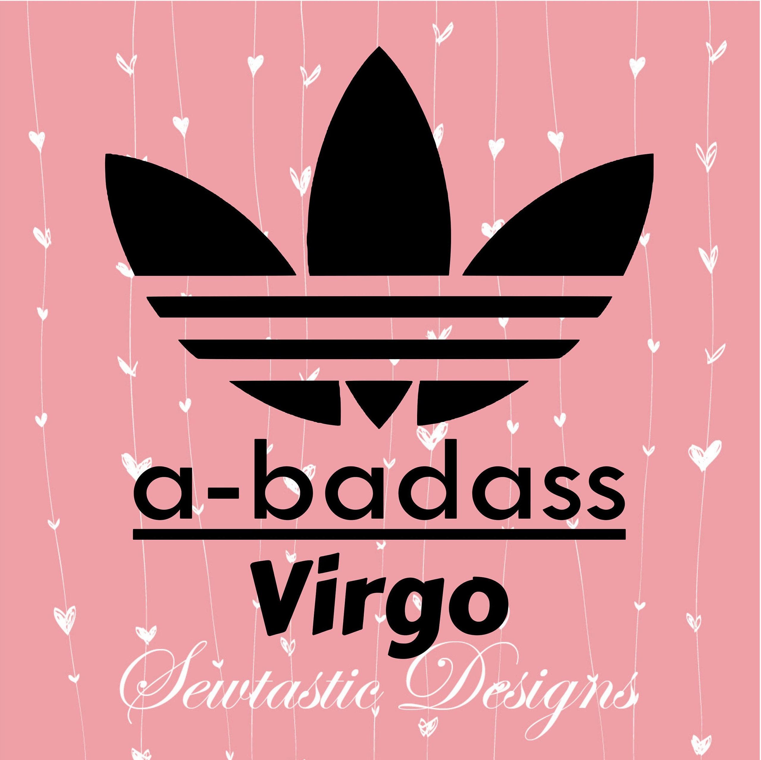 Badass Virgo SVG Badass svg Virgo svg Zodiac svg Astrology | Etsy