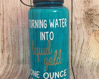 34 Ounce Bottle//Turning Water Into Liquid Gold One Ounce at a Time // Liquid Gold // Water Bottle // Breastfeeding Motivation