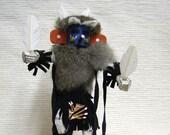 Native American Navajo Made Morning Singer Kachina Doll