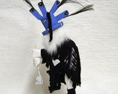 Native American Navajo Made Kokopelli Fertility Kachina Doll