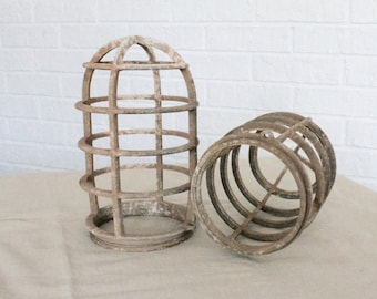 Industrial Light Cage - Crouse and Hinds Explosion Proof Light Cage