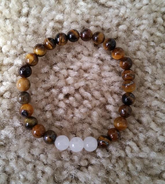 Brown Suede STAR BRACELET with Tigers Eye Bead Boho FESTIVAL jewellery