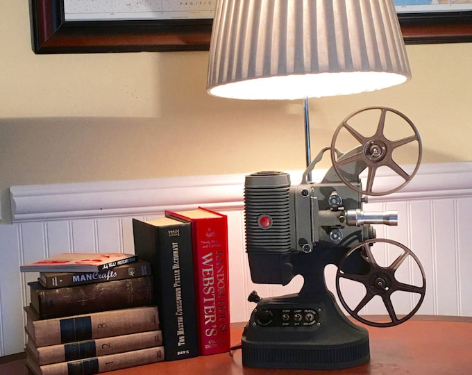 Vintage Projector Lamp; Perfect Piece for the Film Fan(4A0