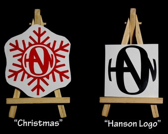 Hanson logo decal - Hanson Finally It's Christmas logo decal - Fanson -vinyl stickers