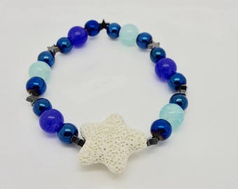 Stunning Shooting Star Essential Oil Bracelet