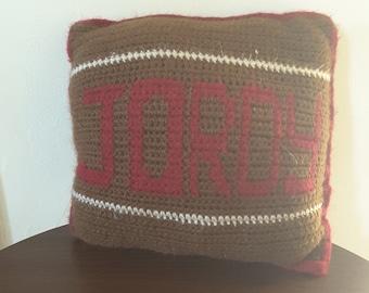Custom Throw Pillows With Names/Nicknames