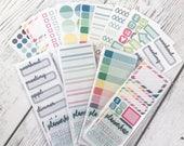 "MINI SAMPLER Sticker Grab Bag (10 Mini ""Freebie"" Sheets of Planner Stickers) ***LIMIT: 6 Per Order*** photo"