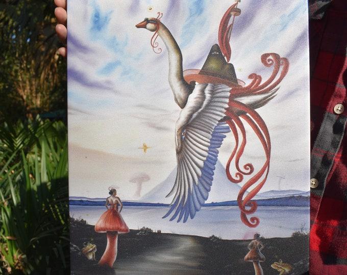 Dream Boat Fine Art Print by Juan Villegas