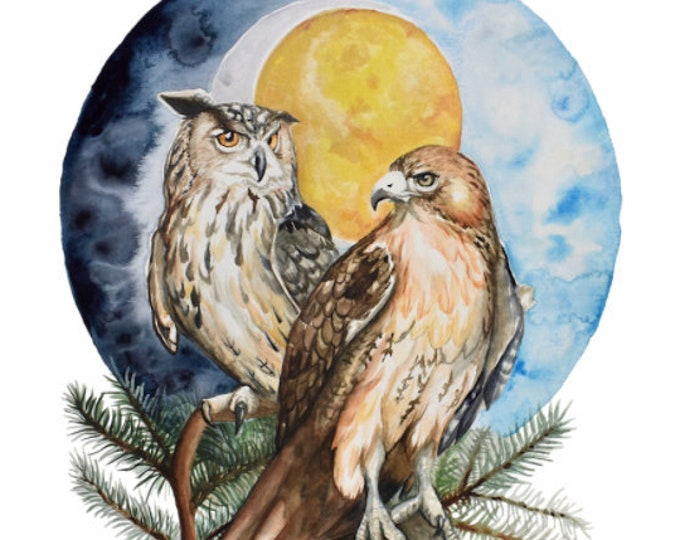 Guardians of the Wood Giclee Print