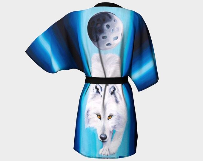 Moon Wolf Kimono