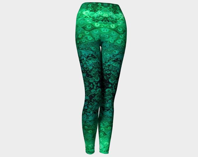 Green Eye Leggings