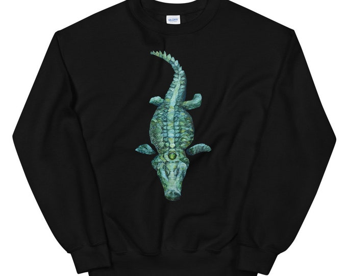 Crock-Eye-Dial Unisex Sweatshirt