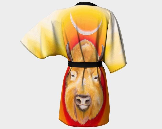 Great White Buffalo Kimono