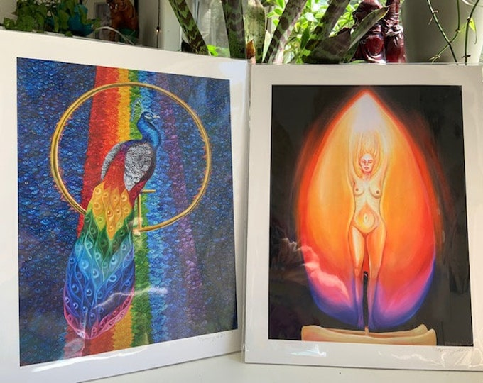 "11""x14"" Prismatic/Radiance Giclee Print"