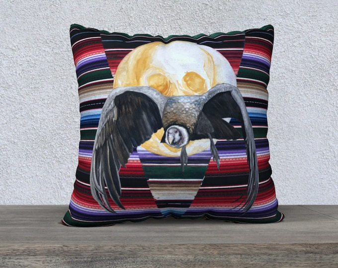 "Andean Condor 22x22"" Pillow Case"