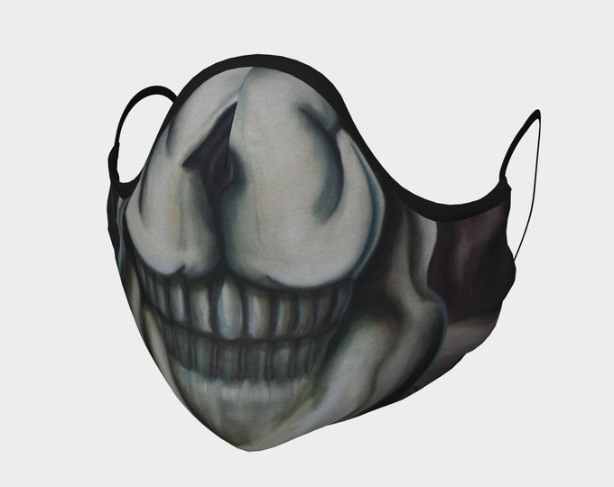 The Cavern of Hidden Truths Face Mask