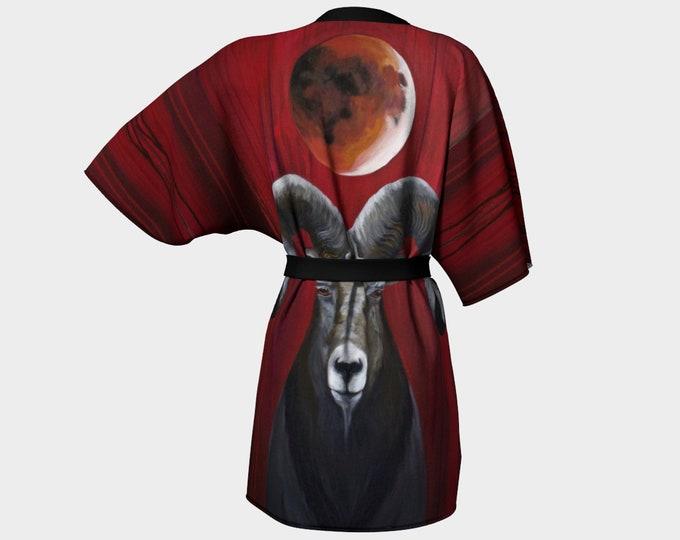 Blood Moon Ram Kimono