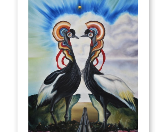 The Seer Fine Art Print by Juan Villegas