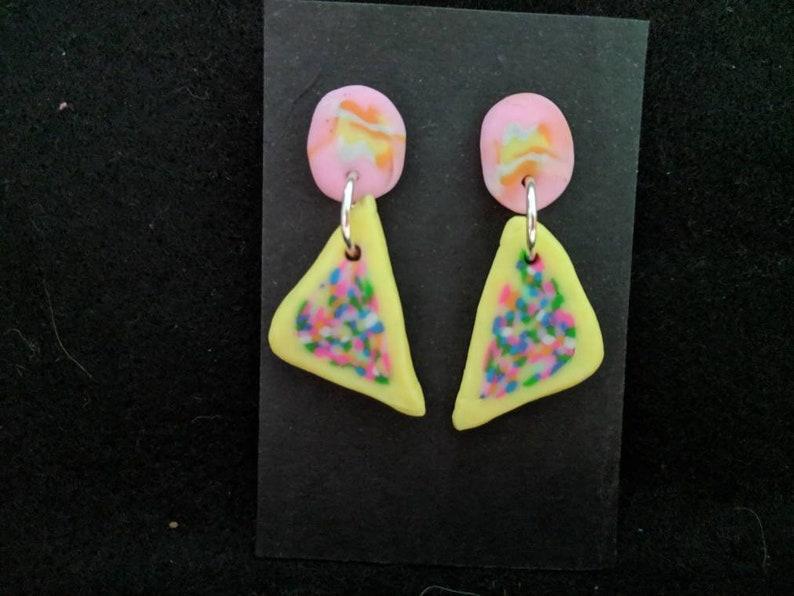 Fairy bread earrings image 0